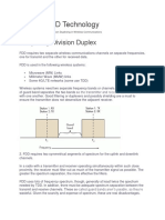 FDD vs TDD Technology