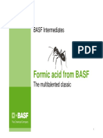 BASF Customer Presentation Formic-Acid