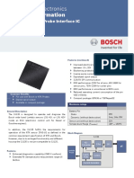 BOSCH CJ135 Product Information 101201
