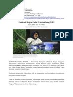 Musrenbang (Perencanaan Pembangunan Pertanian)
