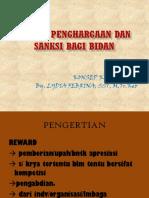 sistem reward dan sanksi bagi bidan