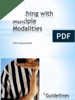 Multiple Modalities Instruction by Firth McEachern, MPM.pptx