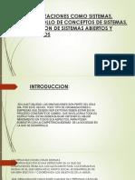 Organizaciones Como Sistemas, Desarrollo de Conceptos De