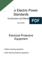Eelctrical standards