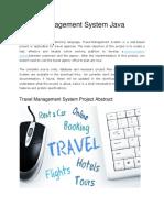 Travel Management System1