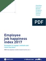 Job Happiness Index 2017(1)