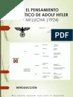 El Pensamiento Político de Adolf Hitler