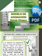 EPII Investigacion Operaciones 06 Modelo Asignacion ALUMNOS