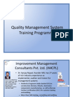 QMS Training