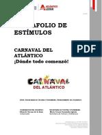 convocatoria de estimulos carnaval 2020 sec de cultura