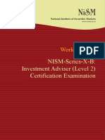 NISM Series X B-Investment Adviser Level 2 - New Version