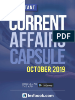 Current Affairs Monthly Capsule October 2019 d2b3e1f2