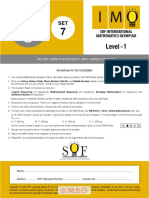 IMO Level1 Class5 Set7