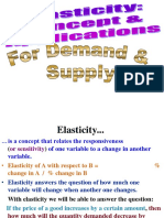 Elasticity (3)