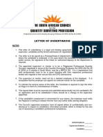 2014 - Employer Letter of Undertaking