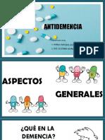 Antidemencia Farmacos 1.1.