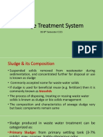 Sludge Treatment SYstem-1