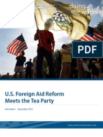 U.S. Foreign Aid Reform Meets the Tea Party