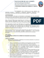 Resolución de Carrera No. 183-2019, Reinicio de Actividades Académicas-1