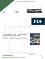 IT Essentials (ITE v6.0 + v7.0) Capítulo 3 Respuestas al examen 100%