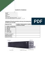 C-TPAT 7 Point Inspection Checklist