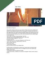 Cerpen Antara Sahabat Dan Cinta