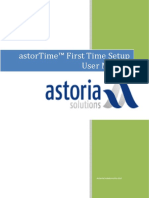 Astor Time Complete User Manual