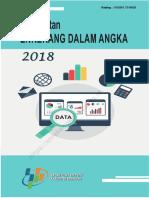 Kecamatan enrekang Dalam angka 2018