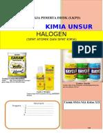 Lkpd Halogen (Sifat Kimia)