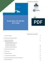 PROYECTO ANUAL DE CENTRO 2019-2020