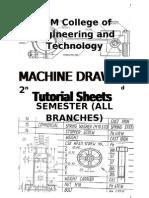 machine Drawing T-Sheet