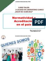Clase 01 Normatividad y Acreditacion en El Pais