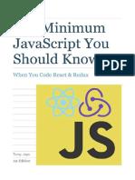 the minimum javascript you should know