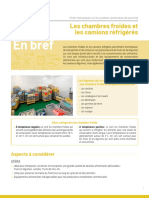 chambre froide commerciale