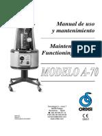 A-70 Manual MOM-02 Edicion 7 SP-En