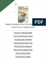The Famous Five (Novel Series) - Wikipedia