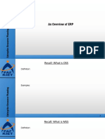 Lecture-III - Overview of ERP, BP _ BF