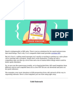 40 B2B Sales Email Templates for Every Situation [Free PDF] ( PDFDrive.com )