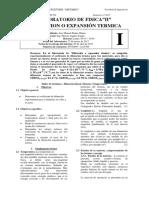 Dilatacion termica
