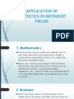 Application Of Statistics In Different Fields.pptx