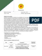 Programa y Planificación psicología