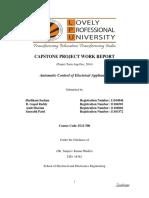 Capstone Complete Report
