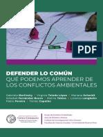 Libro Cuadernillo Defender Lo Comun VERSION WEB