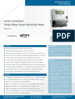 Microstar P2000 D Direct Connected Smart Meter Datasheet 1