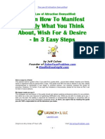 36996368 Law of Attraction 3 Steps