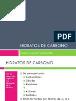 Presentacion Hidratos de Carbono