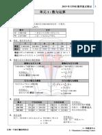 2019 UPSR 数学重点笔记