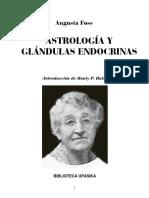 (Augusta Foss) - Astrologia y Glandulas Endocrinas