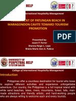 Final Research Presentation PATUNGAN BEACH