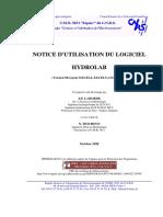 Notice d'Utilisation Du Logiciel Hydrolab